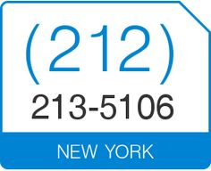 Buy (212) 213 5106 Vanity Number New York Area Code 212 Local Vanity