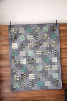 baby boy quilt | Flickr - Photo Sharing!