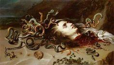 Cabeza de Medusa, por Peter Paul Rubens (1617-18)