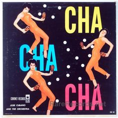 Jose Cubano and the Orchestra - Cha Cha Cha (Coronet Records; date unknown)  This Latin-flavored orchestral LP appeared on the budget label Coronet, probably in the early 1960s. #albums #vinyl #records