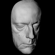Christopher Lloyd Life Mask Back to Future Life Cast in Light Weight White Resin | eBay
