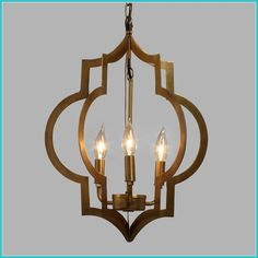 Our Moroccan-inspired pendant is designed for use with three candelabra bulbs and features two quatrefoil symbols finished in elegant antique gold. Pendant Light Fixtures, Small Light Fixtures, Lamp, 3 Light Pendant, Pendant Lamp, Light Fixtures, Hanging Lights, Chandelier, Gold Pendant Lighting