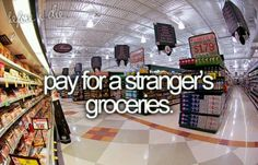 The stuff I've always seriously dreamed of & must do before I die!