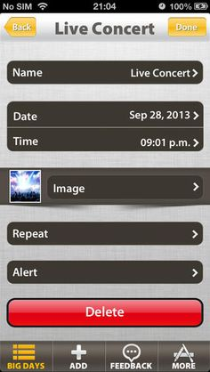12 Best Countdown app images in 2014 | Big day, Countdown timers
