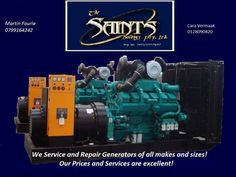 Generator Service and repair Pretoria, WE COME TO YOU! We service and repair Generators of all makes and sizes. We offer a mobile service to save you time and cost. Call us today. Mobile Generator, Gumtree South Africa, Free Classified Ads, Pretoria, Professional Services, Cummins, Peace Of Mind, Volvo