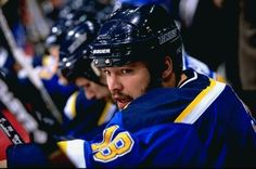 Tough guy Tony Twist scored only 10 goals in 445 career NHL games with the Blues and Nordiques from 1989-1999, but he was one of the toughest fighters in hockey and accumulated 1,121 penalty minutes.