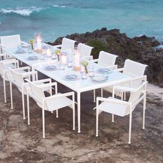 Knoll Richard Schultz 1966 Outdoor Dining Collection Seaside