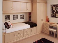 In Style With Fitted Bedroom Furniture Unique This is Marvelous Fitted Bedroom. Code is Product of Wardrobes - Fitted fitted bedroom furniture small rooms Small Apartment Bedrooms, Small Rooms, Small Apartments, Small Spaces, Apartment Ideas, Apartment Therapy, Micro Apartment, Apartment Layout, Kids Rooms