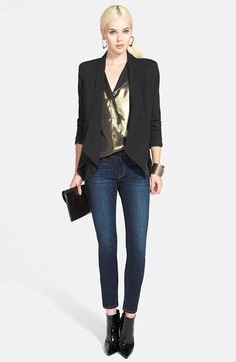 ELEVENPARIS Jacket, Trouvé Top & Treasure&Bond Jeans  available at #Nordstrom