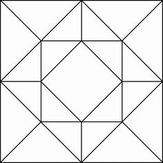 Geometric Pattern For Translation And Rotation Exercises.