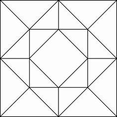 Geometric Block Pattern 96 ClipArt ETC in 2020 Barn quilt patterns Geometric quilt Quilt square patterns