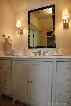 Bathroom from the 2013 Southern Living Idea House