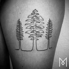Mo Ganji tattoos
