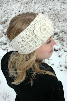 """Anna"" Headband Crochet Pattern- now available!"
