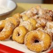 Doughnuts (Italian Graffe) Recipe - Laura in the Kitchen - Internet Cooking Show Starring Laura Vitale