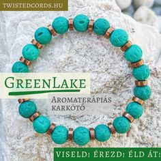 📿 Viseld, érezd, éld át! 📿 A legújabb kollekció: Aromaterápiás karkötőnket megtalálod weboldalunkon! . 🗻 GreenLake - zöld aromaterápiás lávakő karkötő hematit köztesekkel.  . ♨️ Az illatok emlékeket idézhetnek fel. Eszünkbe juttathatnak rég elfeledett pillanatokat. Éld át őket újra! Emellett tökéletes kiegészítő lehet relaxációhoz, meditációhoz, jógához, vagy akár egy pihentető alváshoz. Turquoise Necklace, Jewelry, Jewellery Making, Jewerly, Jewelery, Teal Necklace, Jewels, Jewlery, Fine Jewelry