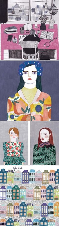 Illustrations by Daria Solak / On the Blog!