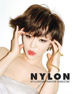 Ga In flaunts her petite figure for 'Nylon'