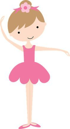 Art Drawings For Kids, Cute Drawings, Art For Kids, Little Girl Ballerina, Ballerina Birthday, Ballet Poses, Ballet Dancers, Dancing Clipart, Cliparts Free