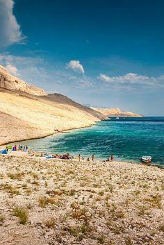 Best Beaches in Croatia #5: Ručica Beach, Island of Pag