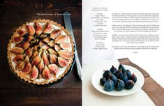 I dolci per la prima colazione: Fig, Mascarpone, e pistacchio Tart