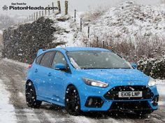Ford Focus RS in Yorkshire