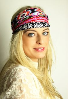 THE BEACH WRAP - Hippie Haarband | Bandana von Petit Fours auf DaWanda.com