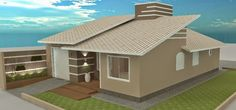 Reforma telhado e fachada!   LA Arquitetura