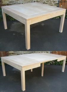 Table Moderne 12 Couverts 1 40x1 40 0 50x2 Frene Chene Ou