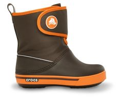 Lightweight Crocband™ Gust Boots won't weigh kids down, but they will keep them warm and cozy all season. Warm Boots, Kids Boots, Warm And Cozy, Rubber Rain Boots, Backpacks, Children, Bags, Kid Stuff, Shoes