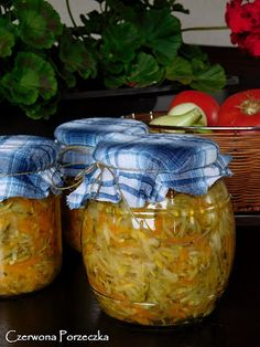 Pickles, Mason Jars, Healthy Recipes, Homemade, Cooking, Food, Canning, Pickling, Salads