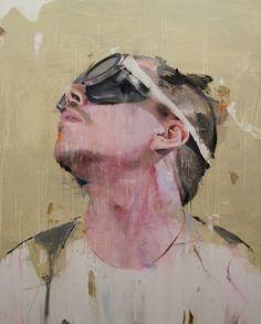 "Saatchi Art Artist: Lou Ros; Acrylic 2014 Painting ""BD6 ( EXHIBITION )"""