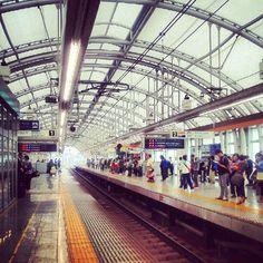 #Nippori Stn. #Keisei #Skyliner #Tokyo #Narita #日暮里駅 #スカイライナー #train #Japan - @lil_rachrach- #webstagram