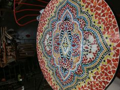Mosaic Table Tiles