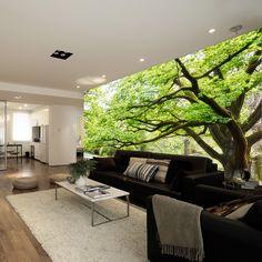 Tv background wallpaper eco-friendly wallpaper mural sofa background wall three…