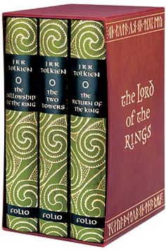 Lord of the Rings - by J.R.R. Tolkein - a favorite series