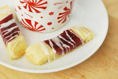Finnish Ribbon Cookies - these are a beautiful & tasty addition to a cookie tray.  I fill mine with cherry preserves, or lemon curd, or plum jam...aah, so many cookies, such little time.