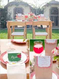 Strawberry THemed Bridal Shower