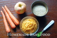 Baby food recipe | Sweet potato, quinoa, apple and carrot puree - Love and Duck Fat
