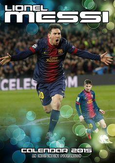 calendrier Lionel Messi 2015 - 12,00 € #onselz