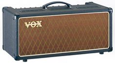 Vox AC-30CCH.  I prefer my amps at under 30 Watts so I can record them LOUD.  I also prefer heads, because you can play them through all the different speaker cabinets, and you can keep them in the control room for easy tweaking.