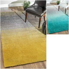 nuLOOM Handmade Soft and Plush Ombre Shag Rug (5' x 8') | Overstock.com Shopping…