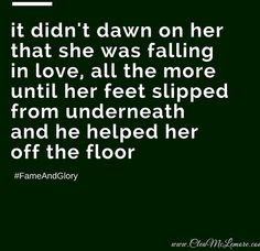 Falling in Love, by Clea McLemore #micropoetry #love #quotes #poetry #FameAndGlory