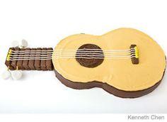 Guitar cake from parenting.com