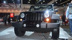 Jeep's latest trio of special editions were on display at the recent LA Auto Show, encouraging show goers to escape the metropolis and chew up California's sand, rock, snow and dirt.