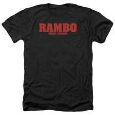 """Checkout our #LicensedGear products FREE SHIPPING + 10% OFF Coupon Code """"Official"""" Rambo:first Blood / Logo-adult Heather - Rambo:first Blood / Logo-adult Heather - Price: $34.99. Buy now at https://officiallylicensedgear.com/rambo-first-blood-logo-adult-heather"""