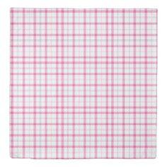 Pink Scottish Plaids Design Duvet Cover  $169.00  by JCDesigning  - custom gift idea