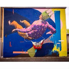 """Happy New Year to our friend @robezio of @acidumproject. Sorry for our delay and all the best!  Work by @acidumproject - """"Leve"""" - Cologne Germany by instagrafite"""