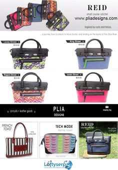 PLIA Designs takes enormous pride in the quality of the premier designer handbags, totes and leather goods that they create. They are superbly handcrafted in intricate detail to the highest standard | www.pliadesigns.com