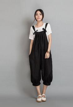 Wide Leg Pants Linen Pants Long Pants Women by dresstore2000